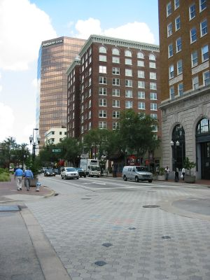 Orlando Downtown. Eindrücke von Orlando während meiner Reise nach Florida, USA.
