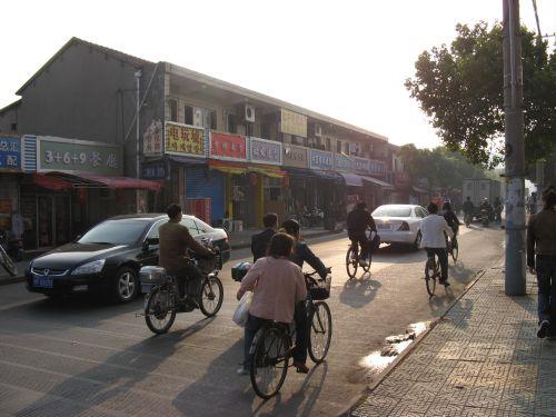 Mein Arbeitsweg durch Shanghai 上海, China 中国