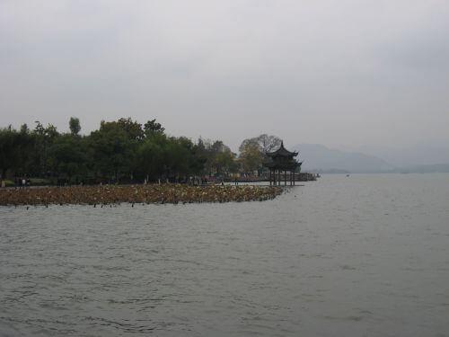 Der Westsee. Hangzhou 杭州 und der Westsee 西湖, China 中国