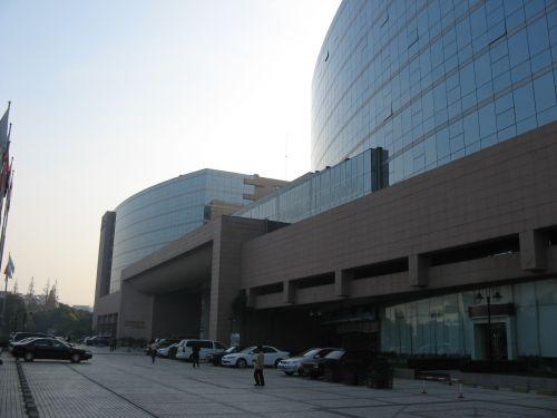 Außenansicht vom Marriott Hongqiao Hotel Shanghai 上海, China 中国