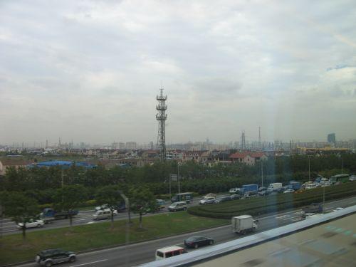Ankunft in der Innenstadt. Mein erster Tag in Shanghai 上海 - eine Fahrt mit der Magnetschwebebahn Maglev