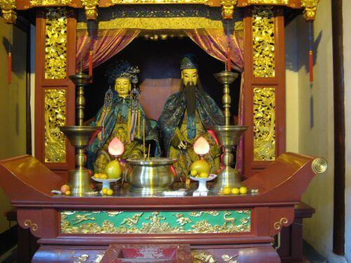 Tempel der Stadtgötter in Shanghai 上海 - The Bund 外滩 und die Innestadt, China 中国