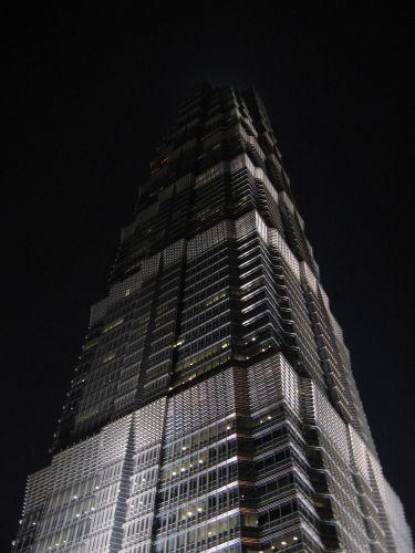 Der Wolkenkratzer Jin Mao Tower 金茂大厦 und Cloud 9 Bar, Shanghai 上海, China 中国