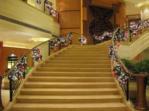 Weihnachten im Marriott Hongqiao Hotel Shanghai 上海