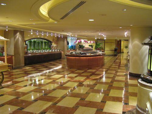 Restaurant im Marriott Hongqiao Hotel Shanghai 上海