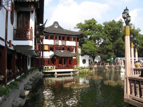Yuyuan Garten in Shanghai 上海 - The Bund 外滩 und die Innestadt, China 中国