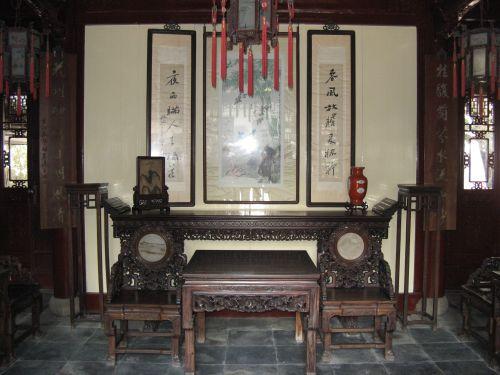 Teehaus im Yuyuan Garten in Shanghai 上海 - The Bund 外滩 und die Innestadt, China 中国