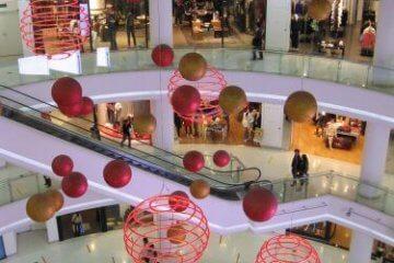 Shopping Mall Einkaufszentrum Shanghai 上海, China 中国