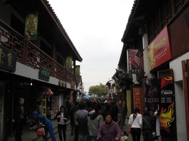 Altes Zentrum von Qibao 七宝镇 - die 'Seven Treasures Town' mitten in Shanghai 上海, China 中国.