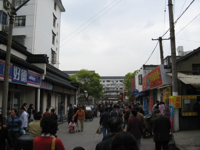 Qibao 七宝镇 - die 'Seven Treasures Town' mitten in Shanghai 上海, China 中国.