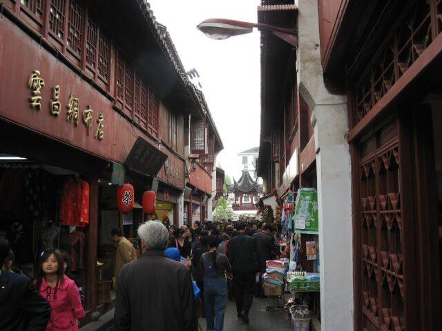 Historisches Zentrum von Qibao 七宝镇 - die 'Seven Treasures Town' mitten in Shanghai 上海, China 中国.