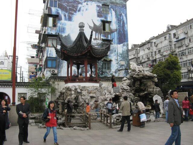 Pagode. Qibao 七宝镇 - die 'Seven Treasures Town' mitten in Shanghai 上海, China 中国.