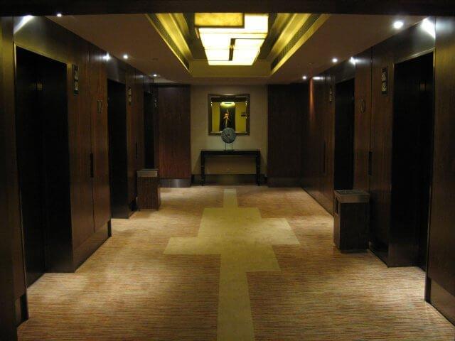 Hoteletage. Hotelbilder aus dem Millenium Hongqiao Hotel in Shanghai 上海, China.
