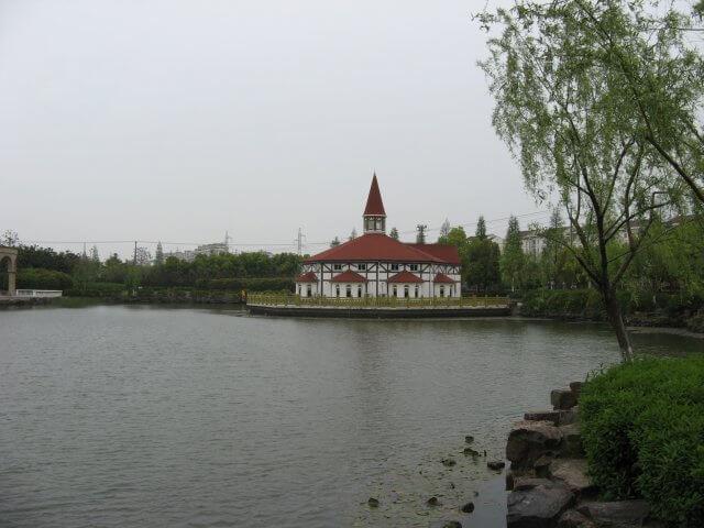 Fachwerkhaus in Songjiang 松江区 - ein unbeabsichtigter Besuch, China 中国, Shanghai 上海