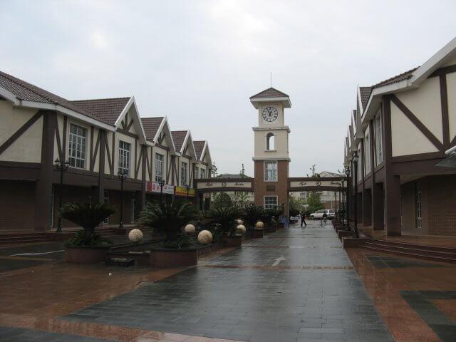 Uhrenturm in Songjiang 松江区 - ein unbeabsichtigter Besuch, China 中国, Shanghai 上海