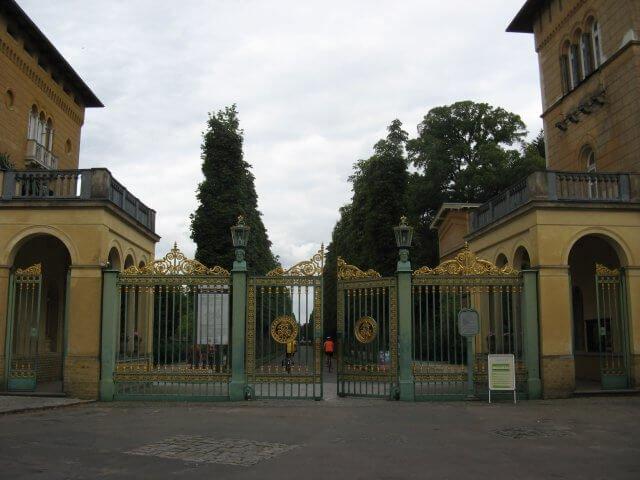 Tor zum Park Sanssouci. Eindrücke aus Potsdam, Sanssouci und neues Palais.