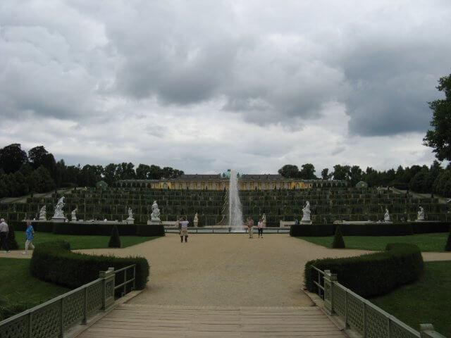 Der Park. Eindrücke aus Potsdam, Sanssouci und neues Palais.