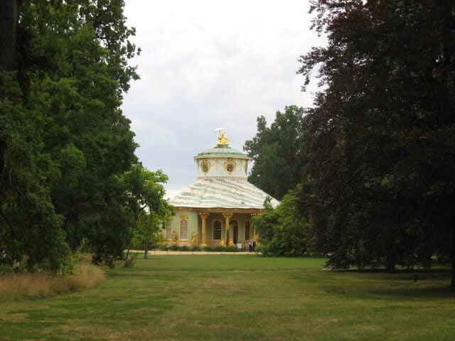 Chinesisches Haus. Eindrücke aus Potsdam, Sanssouci und neues Palais.