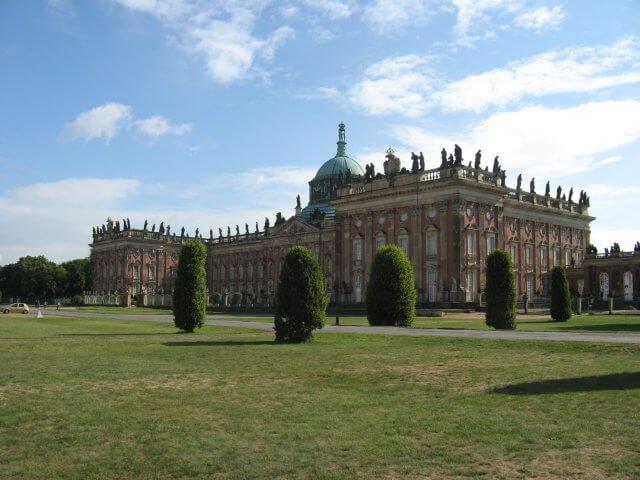 Neues Palais. Eindrücke aus Potsdam, Sanssouci und neues Palais.