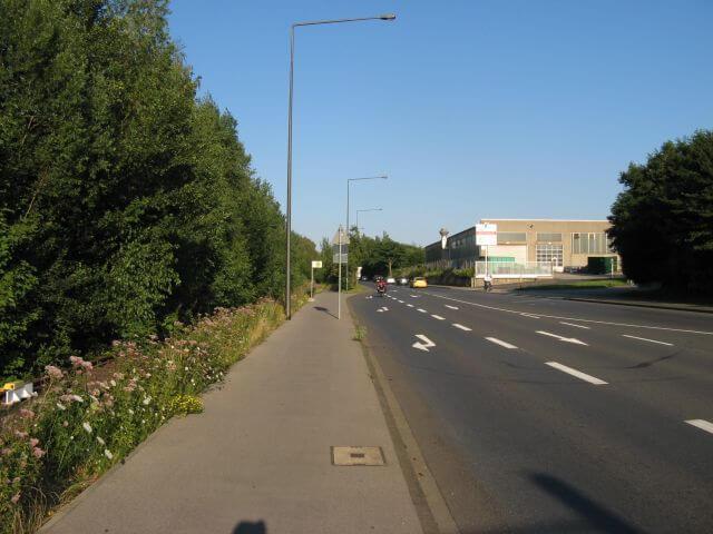Der Vennbahnweg von Aachen in die Eifel nahe Aachen Rothe Erde. Ein Radweg in Bildern.