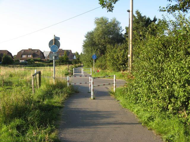 Der Vennbahnweg von Aachen in die Eifel nahe Aachen Brand. Ein Radweg in Bildern.