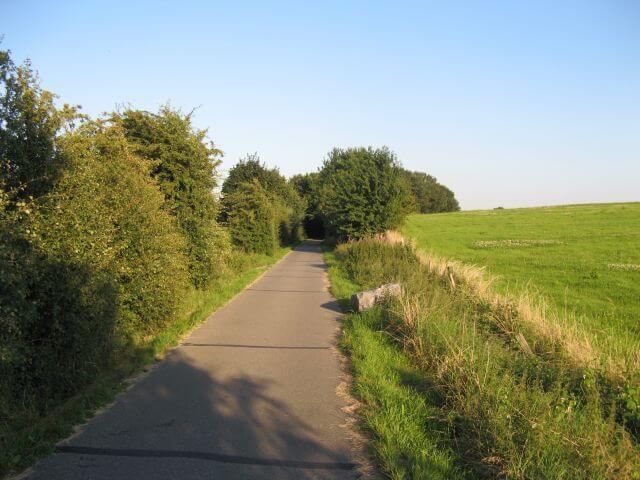Der Vennbahnweg von Aachen in die Eifel nahe Kornelimünster. Ein Radweg in Bildern.