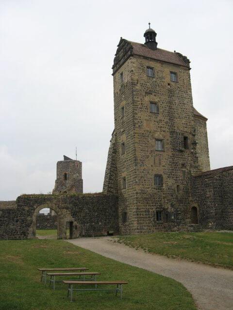 Burg Stolpen bei Dresden.