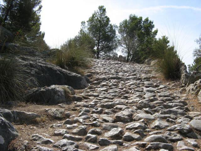 Reitweg des Erzherzogs. Wanderungen in der Bergwelt Mallorcas.