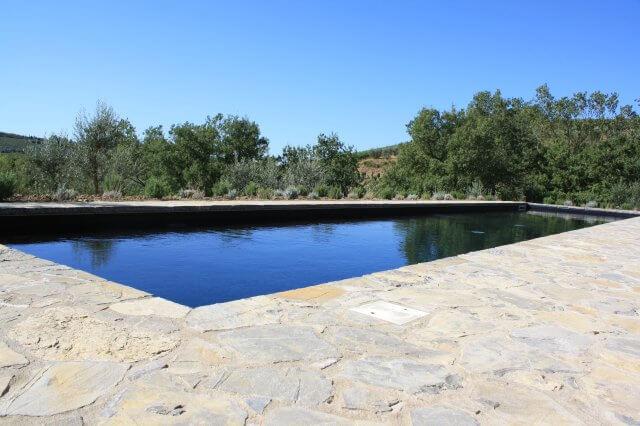 Toller Pool. Toskana-Landschaft, Italien