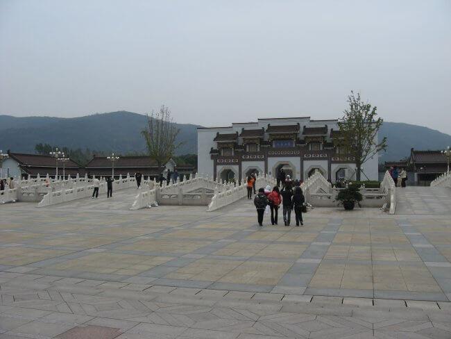 Brücken. Lingshan 灵山, Grand Buddha, Provinz Wuxi, China