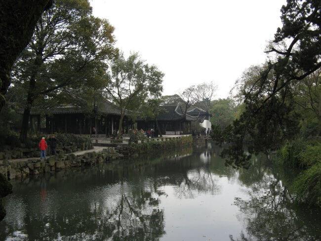 See im Park. Suzhou 苏州市 - Humble Administrator's Garden 拙政园 (Zhuozheng Yuan), China.