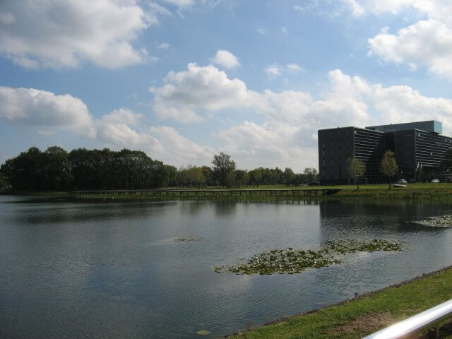 Der See. Philips High Tech Campus,  Eindhoven.