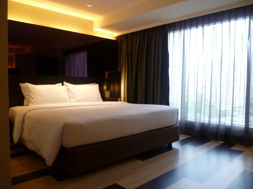 Hotel an der Sukhumvit Road. Bilder und Eindrücke aus Bangkok - Thailand.