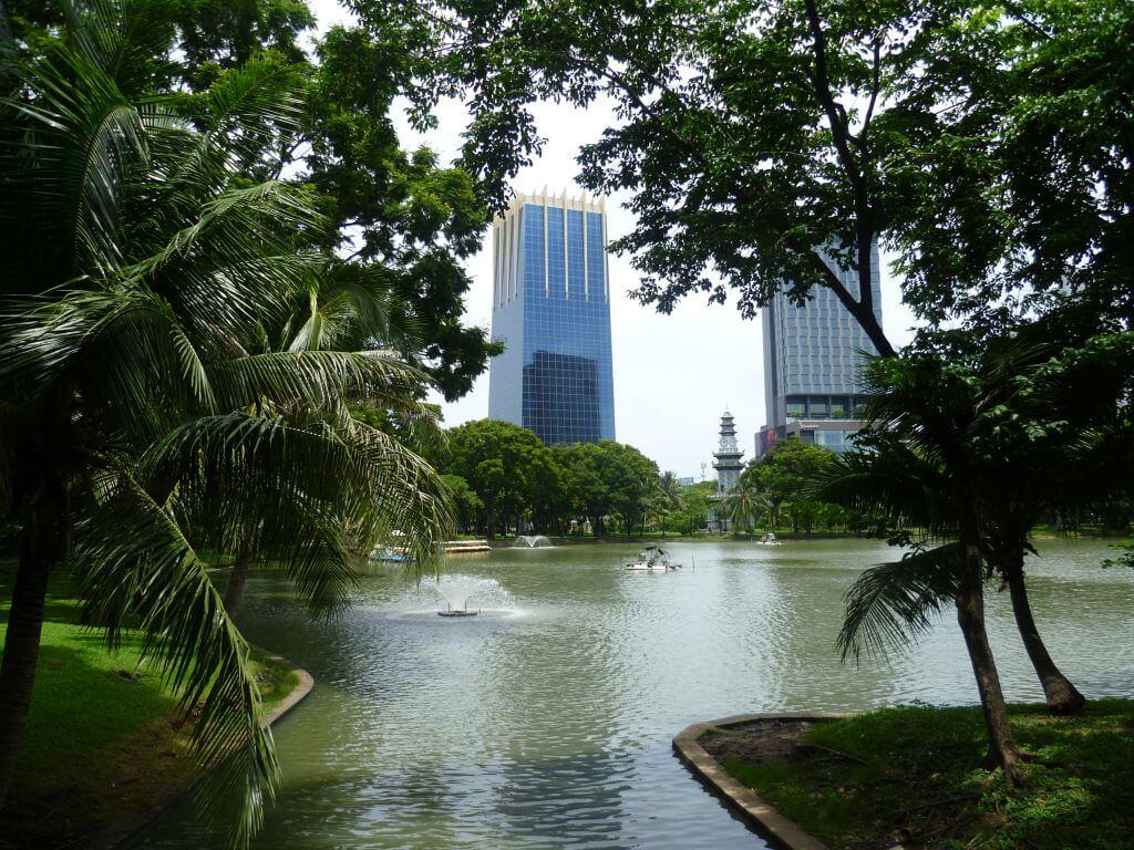 Lumphini Park. Bilder und Eindrücke aus Bangkok - Thailand