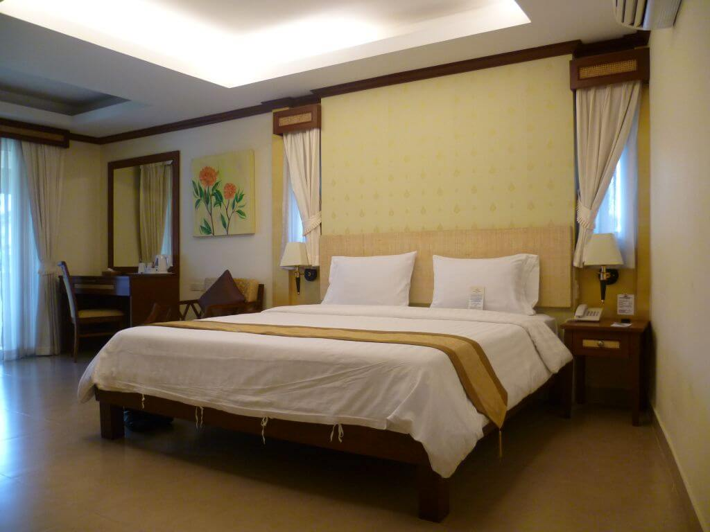 Zimmer. Hotelanlage. Thailand.