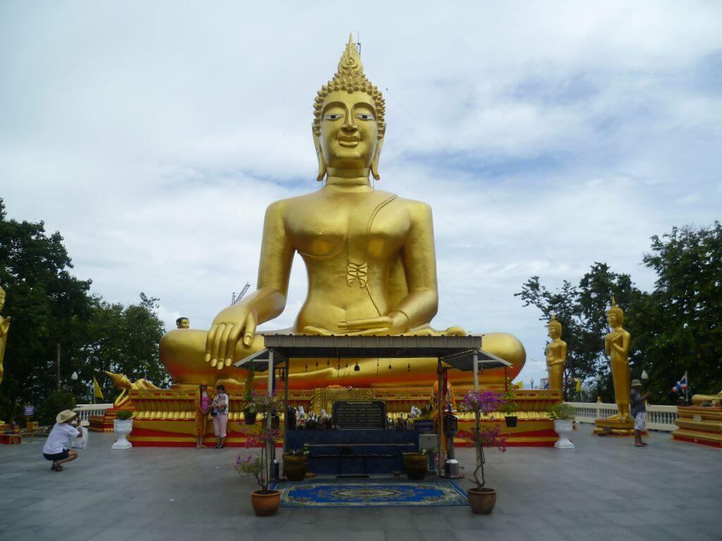 Goldener Buddha Thailand.