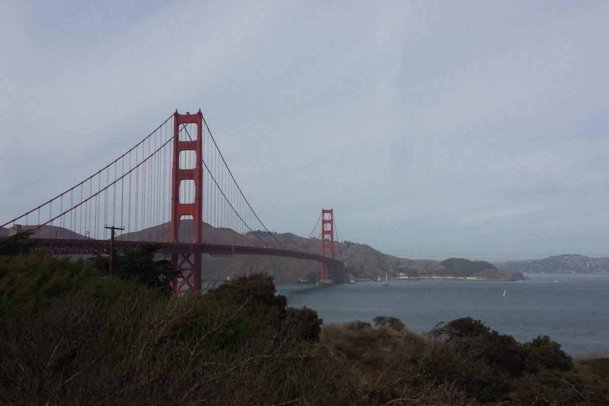 Golden Gate Bridge. Bilder und Eindrücke aus San Francisco, California, United States.