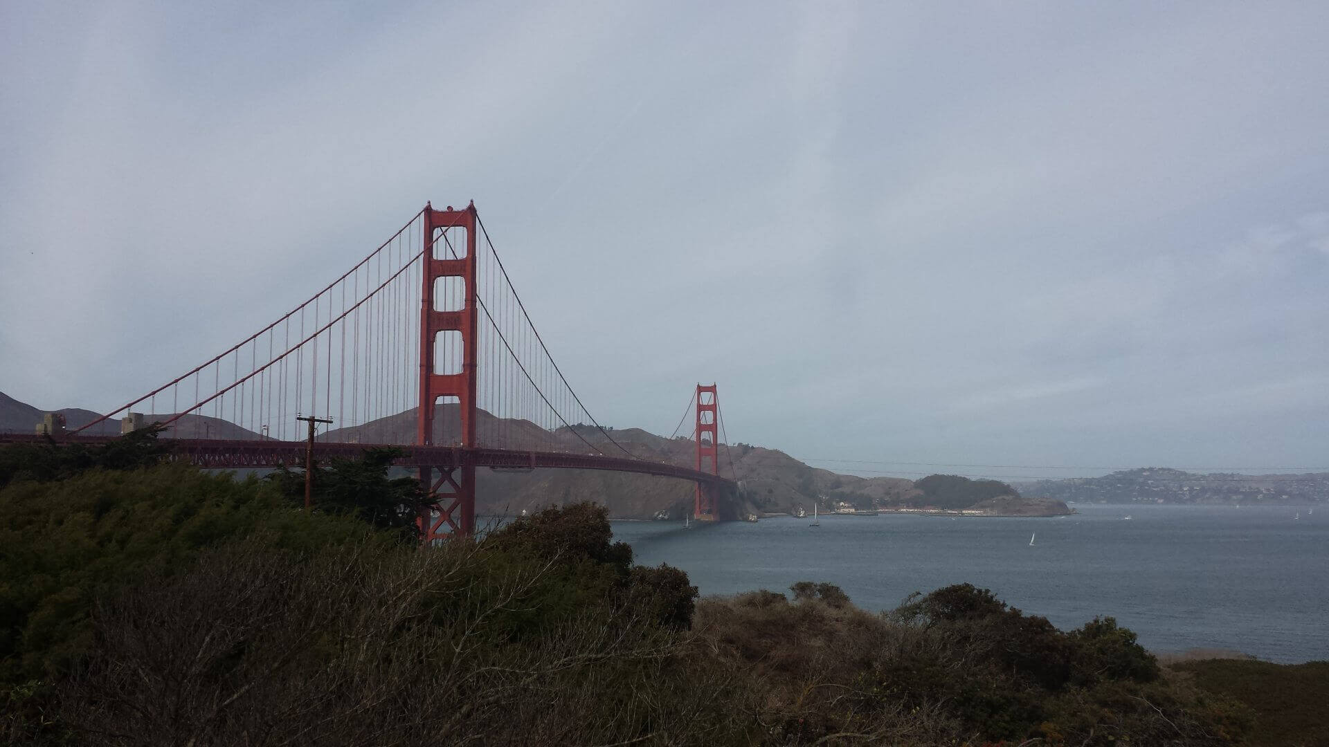 Golden Gate Bridge. Bilder und Eindrücke aus San Francisco, California, United States.