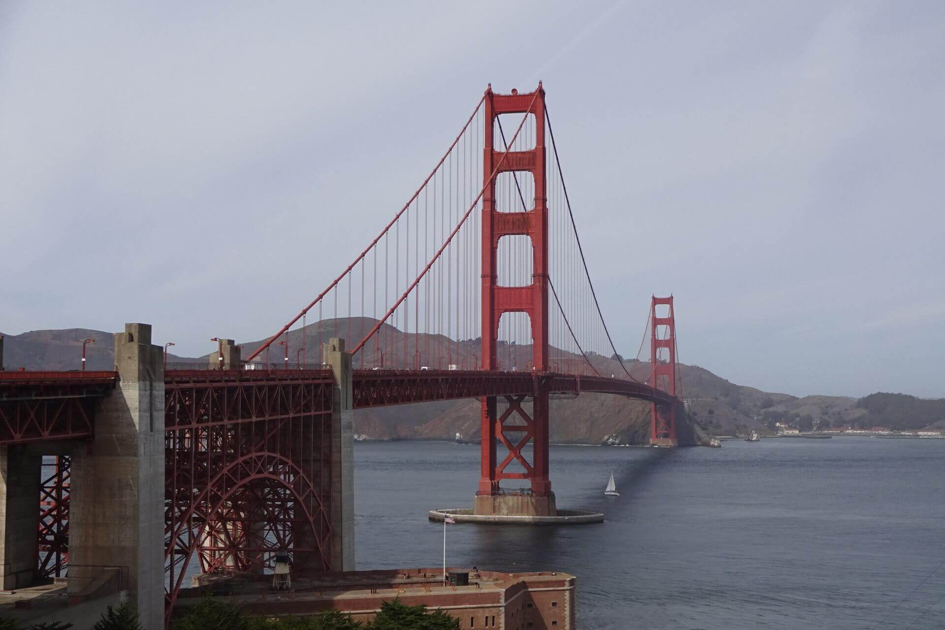 Die Golden Gate Bridge in International Orange. Bilder und Eindrücke aus San Francisco, California, United States.