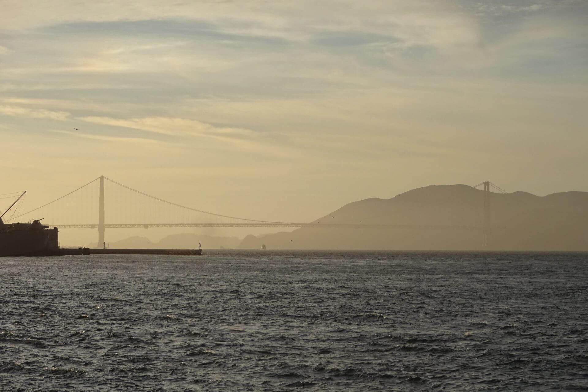 Diesige Bay Area. Bilder und Eindrücke aus San Francisco, California, United States.