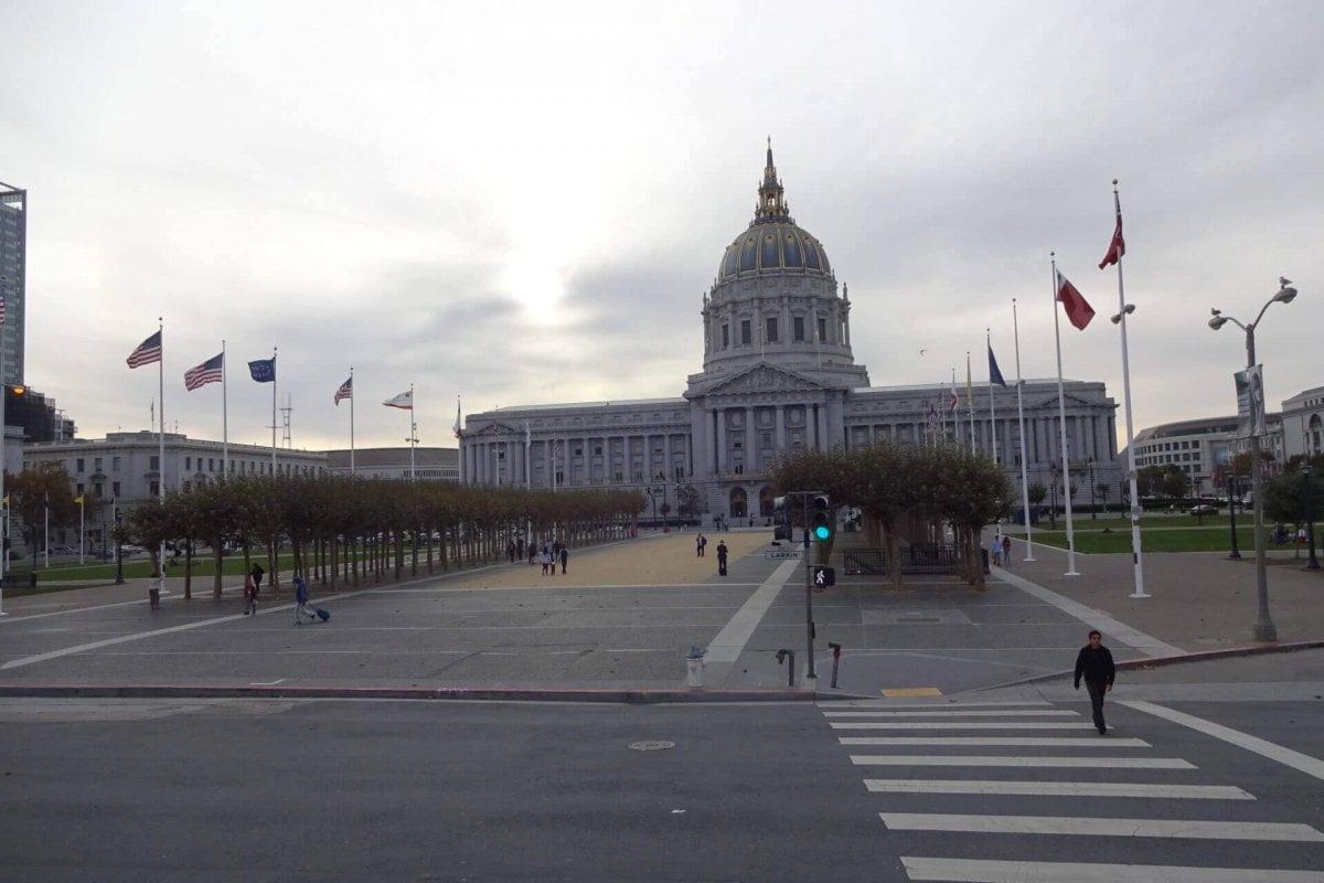 Rathaus. Bilder und Eindrücke aus San Francisco, California, United States.