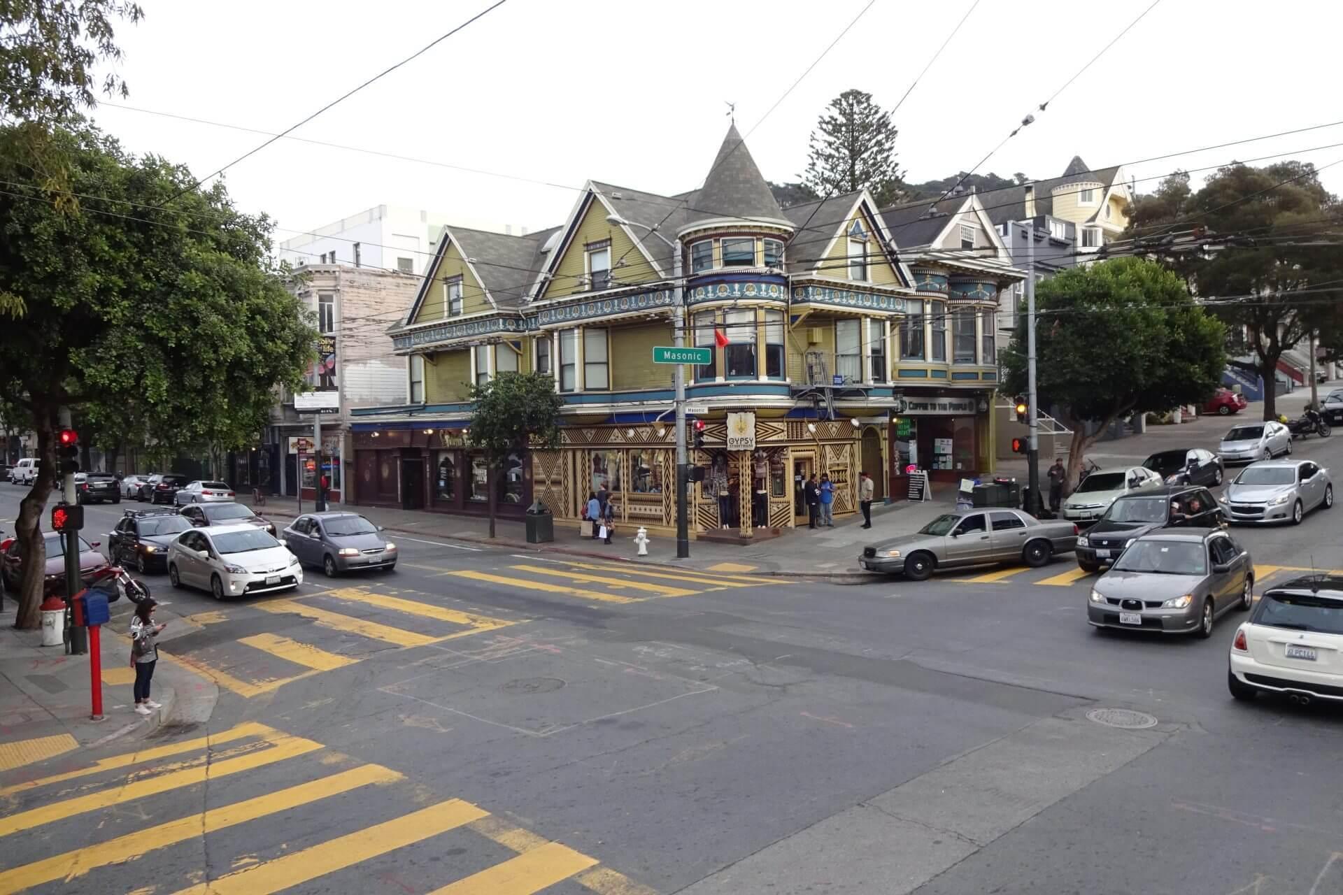 Hippie Area. Bilder und Eindrücke aus San Francisco, California, United States.
