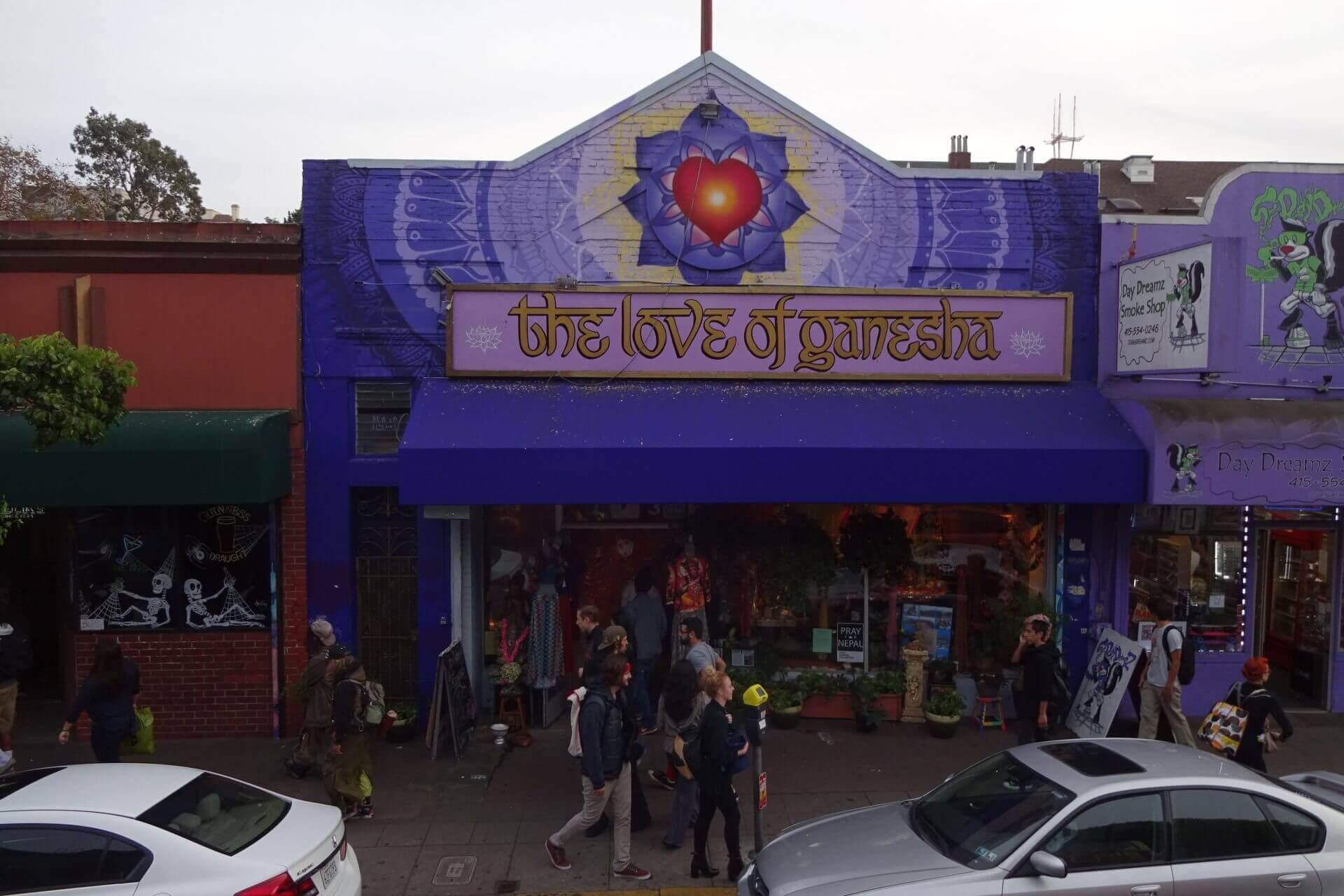 Love of Ganesha. Bilder und Eindrücke aus San Francisco, California, United States.