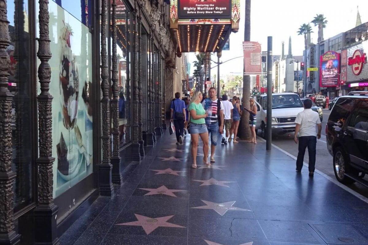 Walk of Fame. Bilder und Eindrücke aus Los Angeles und Hollywood, Kalifornien, USA.