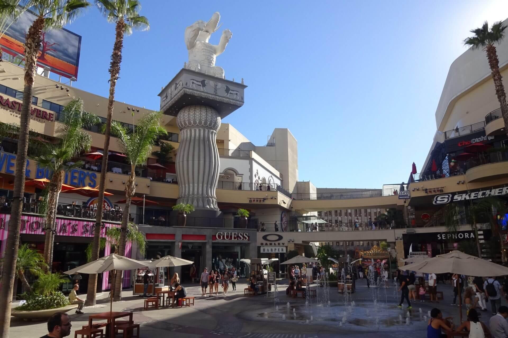 Hollywood Zentrum. Bilder und Eindrücke aus Los Angeles und Hollywood, Kalifornien, USA.