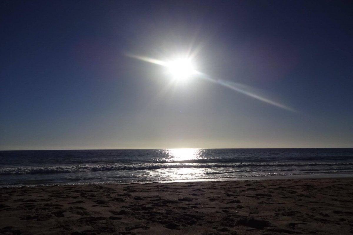 Malibu Beach. Bilder und Eindrücke aus Los Angeles und Hollywood, Kalifornien, USA.