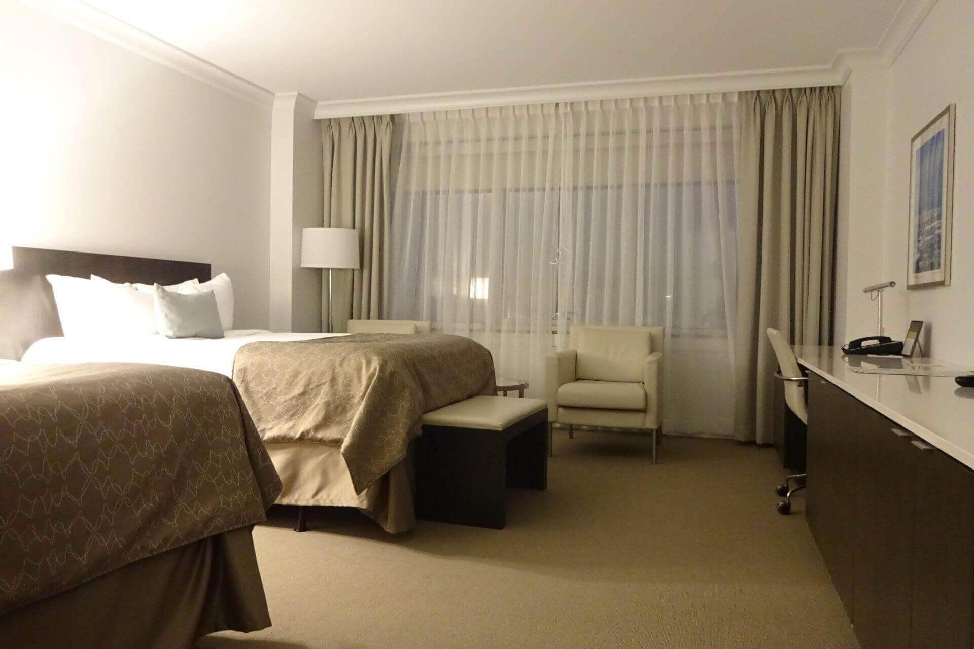 Hotelzimmer. Bilder und Eindrücke aus Cleveland, Ohio, United States.