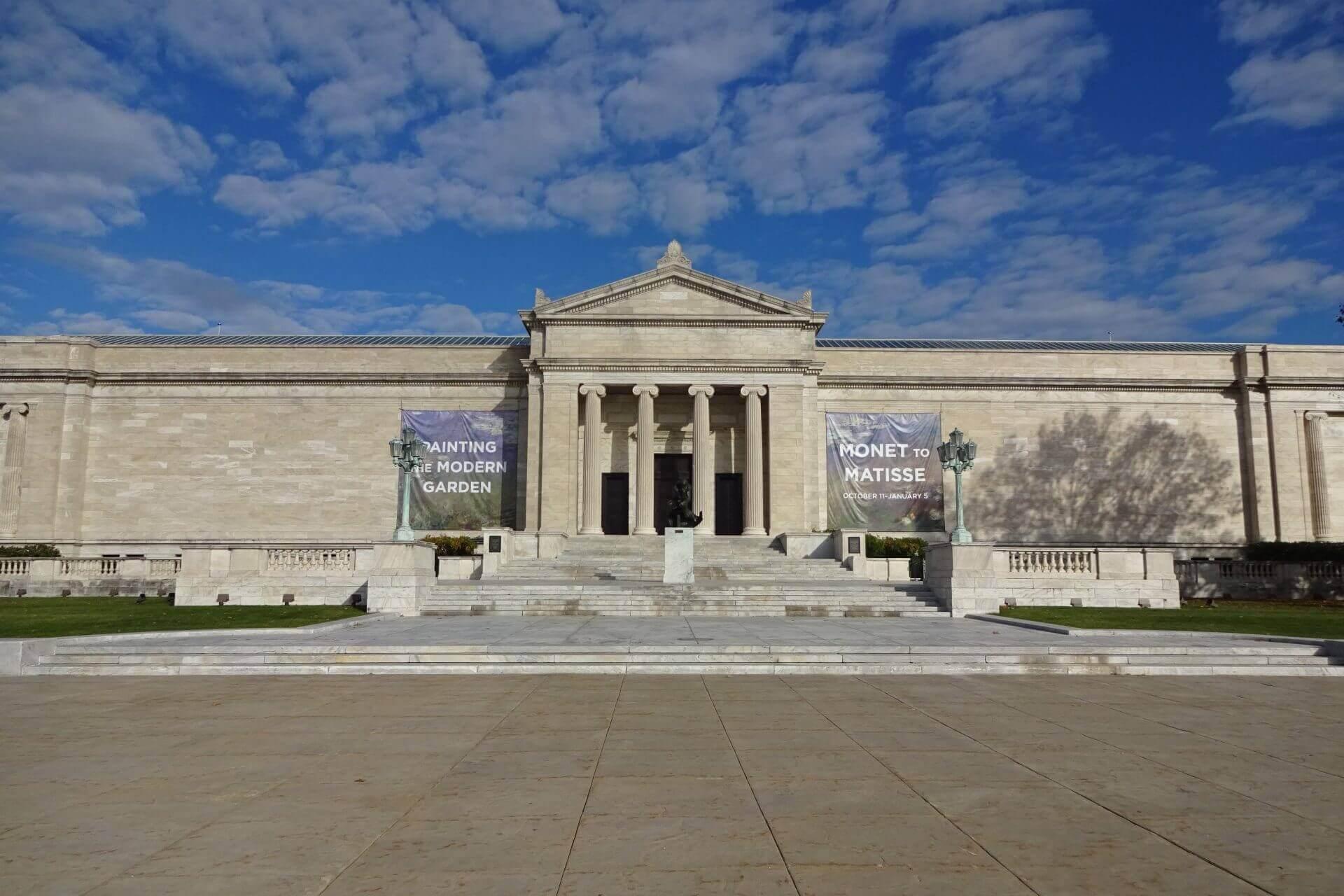 Cleveland Art Museum. Bilder und Eindrücke aus Cleveland, Ohio, United States.