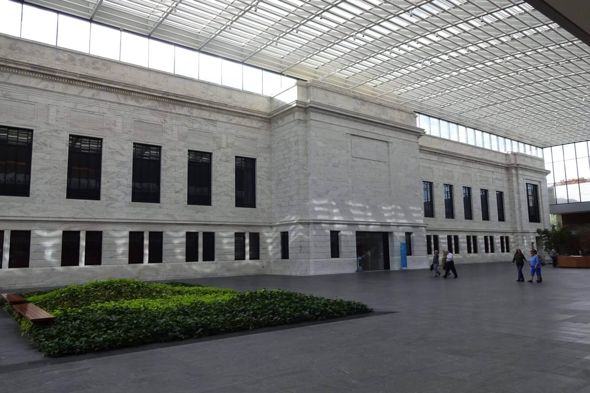 Innenansichten vom Cleveland Art Museum. Bilder und Eindrücke aus Cleveland, Ohio, United States.