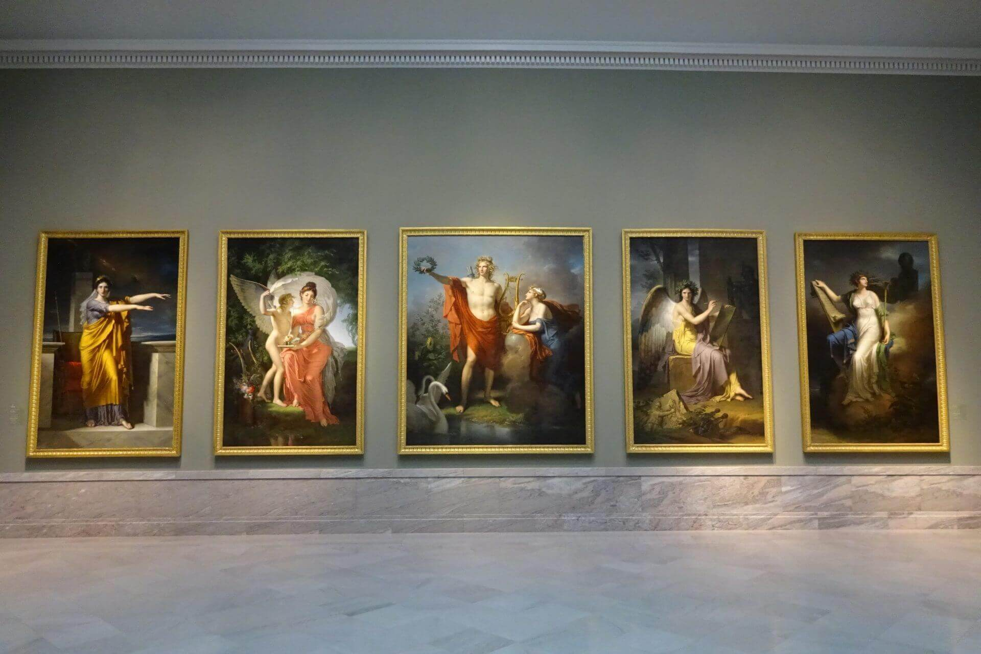 Bilder in leuchtenden Farben im Cleveland Art Museum. Bilder und Eindrücke aus Cleveland, Ohio, United States.